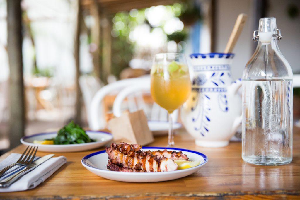 Mandolin Aegean Bistro Romantic Restaurant in Miami